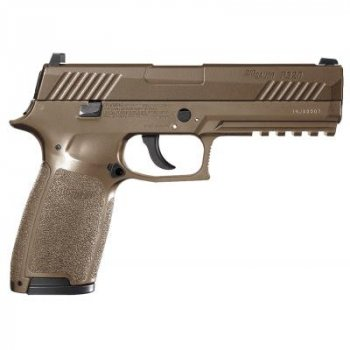 Пневматический пистолет Sig Sauer Air P320 Coyote Tan 4,5 мм (AIR-P320-177-30R-CYT)