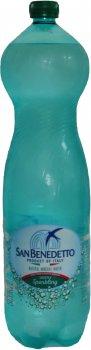 Упаковка минеральной слабогазированной воды San Benedetto 1.5 л х 6 бутылок (8001620004081)