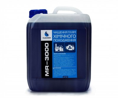 Средство для очистки пятен химического происхождения Cleando MR - 3000 5 л