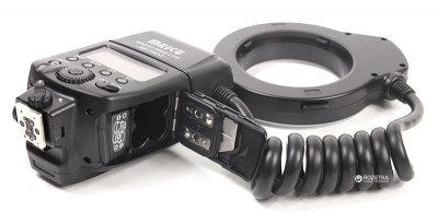 Кольцевая макровспышка Meike для Nikon MK-14EXT (RT960118)