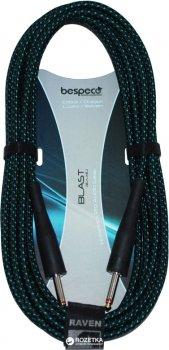 Інструментальний кабель Bespeco RA900 9 м Black/Green (23-2-4-27)