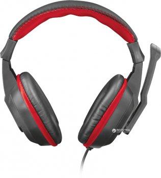 Наушники Trust Ziva Gaming Headset Black-Red (TR21953)