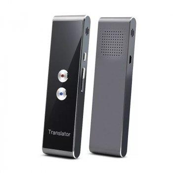 Голосовий електронний перекладач SUNROZ KS-TL328 Translator в режимі реального часу Чорний