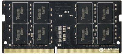 Оперативна пам'ять Team Elite SODIMM DDR4-2400 8192MB PC4-19200 (TED48G2400C16-S01)