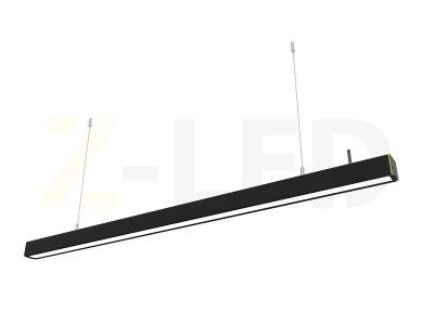 Диммируемый лінійний світлодіодний світильник Z-LED 100Вт чорний (2015x42x43) LSN-100db