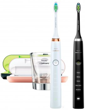 Набор электрических зубных щеток PHILIPS Sonicare DiamondClean HX9392/39