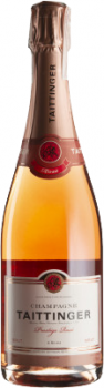 Шампанське Taittinger Prestige Rose рожеве брют 0.75 л 12.5% (3016570006844)