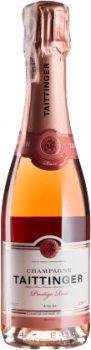 Шампанське Taittinger Prestige Rose рожеве брют 0.375 л 12.5% (3016570002037)