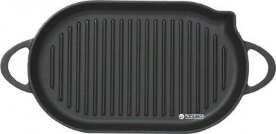Сковорода-гриль Perfelli 5690 чавунна овальна 33х20 см (АКУТ000000116)