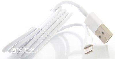 Зарядное устройство DRAFT 4210D-USB 5V 2A + кабель Lightning White (152825)