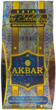 Чай крупнолистовой Akbar Orient Mystery Royal Celebrations чайная смесь с добавлением цветочных лепестков 100 г (5014176014445)