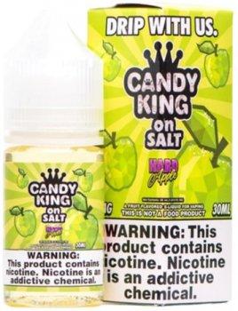 Рідина для POD-систем Candy King on Salt Hard Apple 30 мл (Яблуко) (CK-HA)