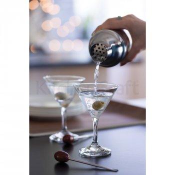 Набір для мартіні та коктейлів Kitchen Craft Bar Craft Glass (435637)