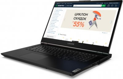 Ноутбук Lenovo Legion 5 17ARH05H (82GN002QRA) Phantom Black