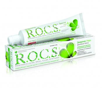 Зубная паста R.O.C.S. Двойная мята, 74 г (214445)