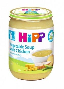 Овочевий суп з курчам HiPP, 190 г (111447)