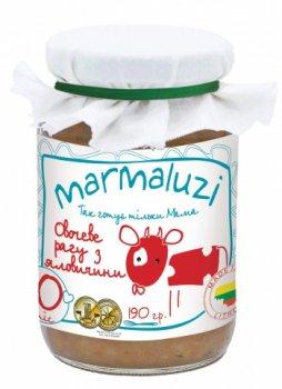 Пюре Marmaluzi Овочеве рагу з яловичини, 190 г (064535)