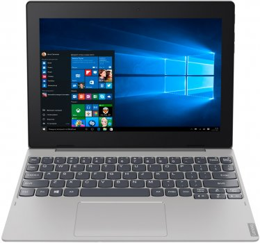 Планшет Lenovo IdeaPad D330 HD N4000 4/64 Wi-Fi Win10P Mineral Grey (81H300HYRA)