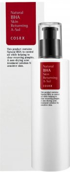 Тонер для лица Cosrx Natural BHA Skin Returning A-Sol с прополисом и BHA кислотами 100 мл (8809416470115)
