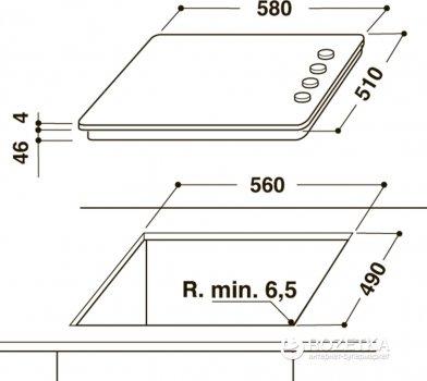 Варочная поверхность электрическая INDESIT RI860C