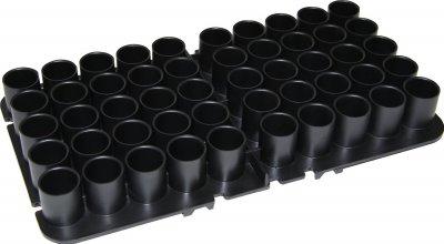 Подставка MTM Shotshell Tray на 50 глакоств. патронов 12 кал. Цвет - черный. 17730896