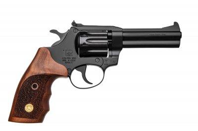 Револьвер під патрон Флобера Alfa mod.441 ворон/дерево. 14310046