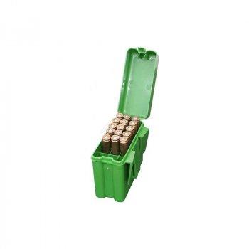Коробка MTM на 20 патронов кал. 243, 308 Win. Цвет - зеленый. 17730498