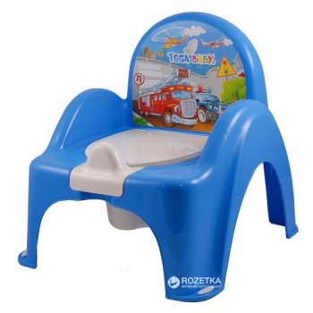 Детский горшок-кресло Tega Baby Cars CS-007 Blue (Tega CS-007 blue)