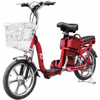 Электровелосипед VEGA ELF-2 Light с замком Красный