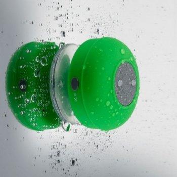 Беспроводная колонка для душа Zha BathBeats зеленая