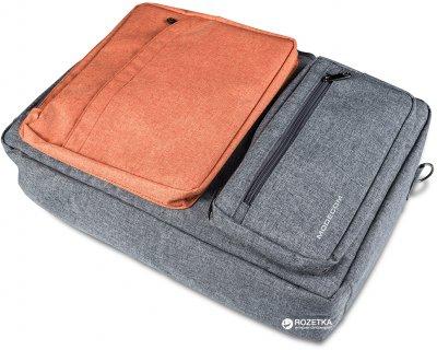 """Сумка-рюкзак трансформер для ноутбука Modecom Reno 15.6"""" Orange (TOR-MC-RENO-ORG)"""