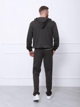 Спортивний костюм ISSA PLUS GN-409 Темно-сірий