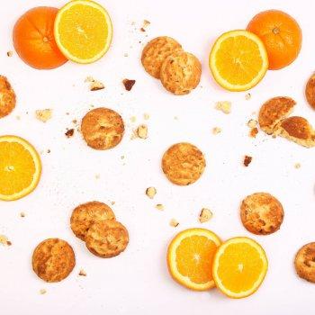 Печенье сдобное Чарівна мозаїка Морковно-апельсиновое с цукатами моркови и апельсина 3 кг (2820163061698)