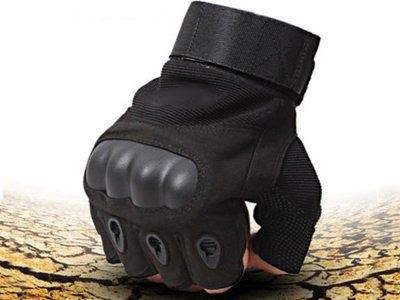 Перчатки Oakley Без пальцев длямужчинармейские,военные,тактическиеL Черный (1006-794-01)