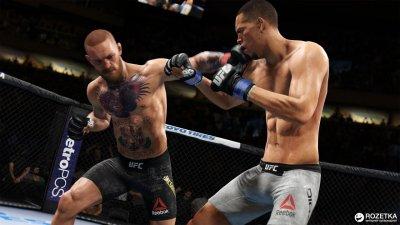 Игра UFC 3 для PS4 (Blu-ray диск, Russian version)
