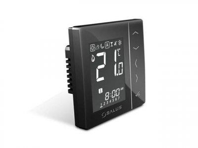 Термостат SALUS VS30B провідний зональний прихованого монтажу чорний