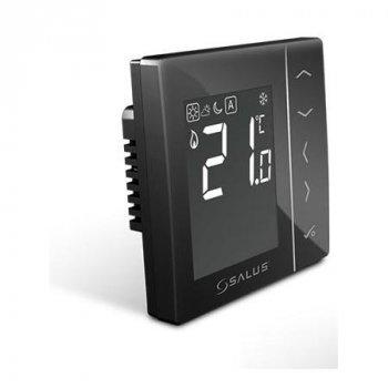 Термостат SALUS VS35B провідний зональний прихованого монтажу чорний
