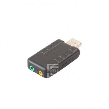Звуковая карта Ewell USB-SOUND Virtual 8.1 Channel (EW071)