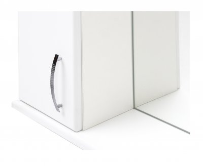 Зеркальный шкаф GRANITIKA Лотос 55 (Белый) GZL55-11