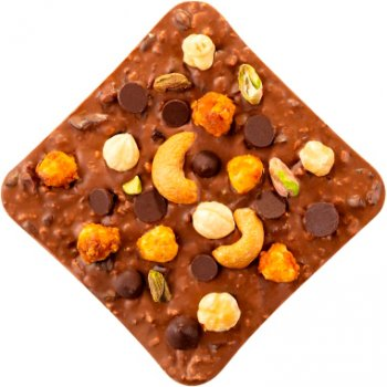 Шоколад Spell Milk Chocolate & Best Nuts 120 г (4820207310339)