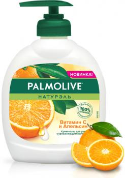 Жидкое крем-мыло для рук Palmolive Натурэль Витамин C и Апельсин 300 мл (8718951312050)