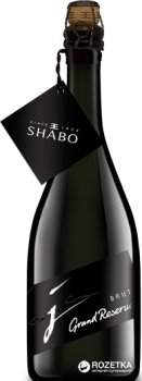 Вино ігристе Shabo Grand Reserve брют біле 0.75 л 13.0% (4820070402759)