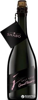 Вино ігристе Shabo Grand Reserve брют рожеве 0.75 л 13.0% (4820070404319)