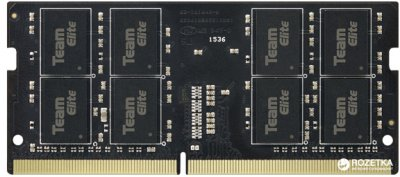 Оперативная память Team Elite SODIMM DDR4-2133 4096MB PC4-17000 Black (TED44G2133C15-S01)