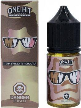 Рідина для POD-систем One Hit Wonder Salts My Man 50 мг 30 мл (Шоколад + ваніль) (OHWS-MYM-50-30)