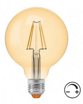 Светодиодная лампа VIDEX NeoClassic (Filament) G95FAD 7W E27 2200K 220V с диммером (VL-G95FAD-07272)