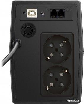 Джерело безперебійного живлення Mustek PowerMust 800 Sinewave LCD Line Interactive Schuko (800-LCD-LIS-T10)