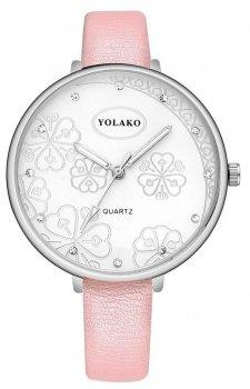 Женские наручные часы Yolako steel flower 7754862-4 (41322)