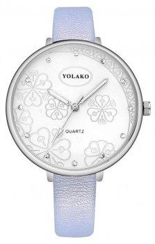Женские наручные часы Yolako steel flower 7754862-7 (41325)