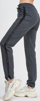 Спортивні штани ISSA PLUS 9976 Темно-сірі